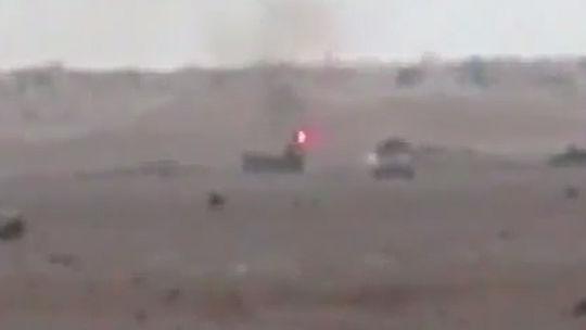 """Т-90 в Сирии отклонил невидимой """"шторой"""" ракету ПТУРа"""